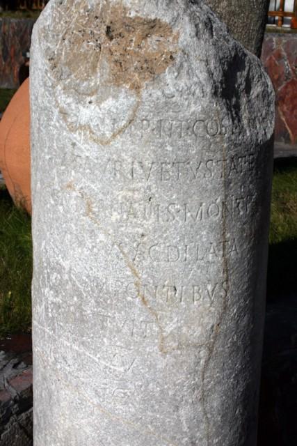 Roman Mile Stone 2