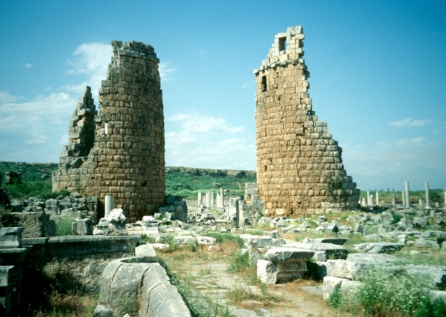 Hellenistic City Gate 2