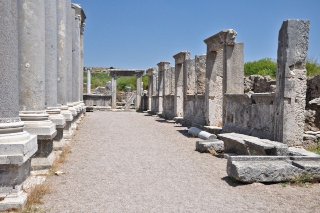 Forum Portico and Shops