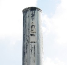 Column with Toga–clad Male