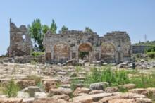 Roman Gate Interior