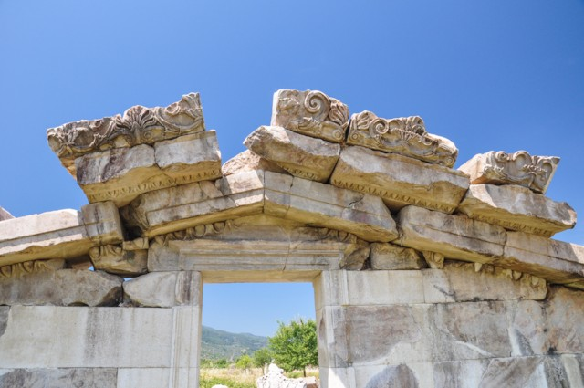 Temple of Artemis Pediment Detail