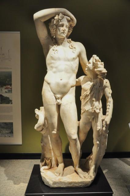 Dionysos and Satyr