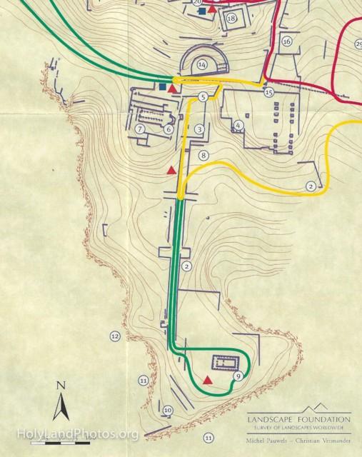 Plan of Lower City