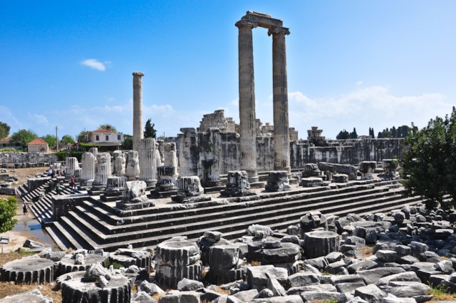 Apollo Temple Entrance