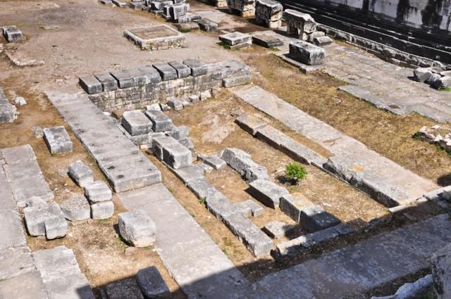 Temple of Apollo (Interior Detail)