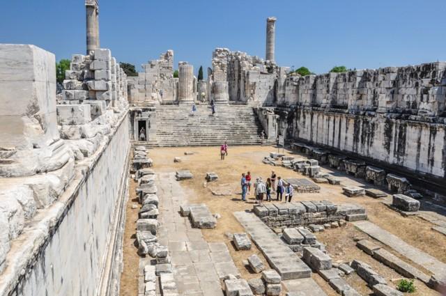 Temple of Apollo Interior 1