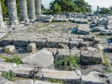 Interior Temple Athena