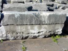 Right Side of Inscription