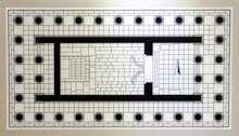 Plan of Athena Temple