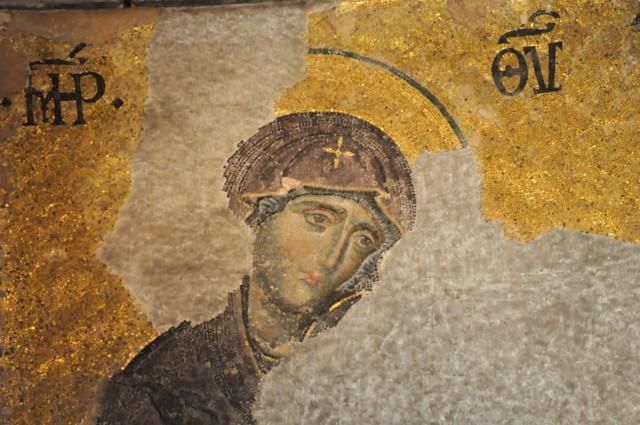Deisis Virgin Mary