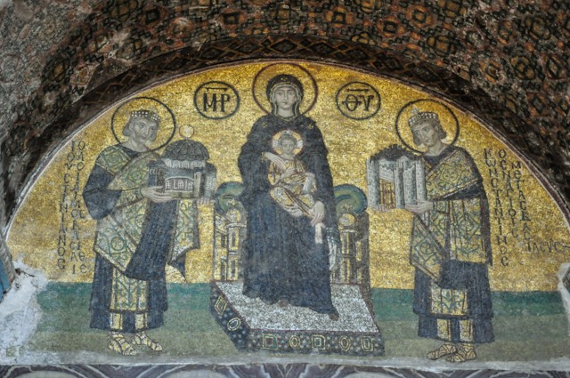 Mosaic of the Donors