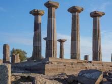 Temple of Athena Detail