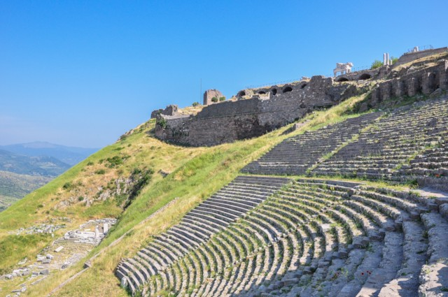 Dionysus Temple and Theater