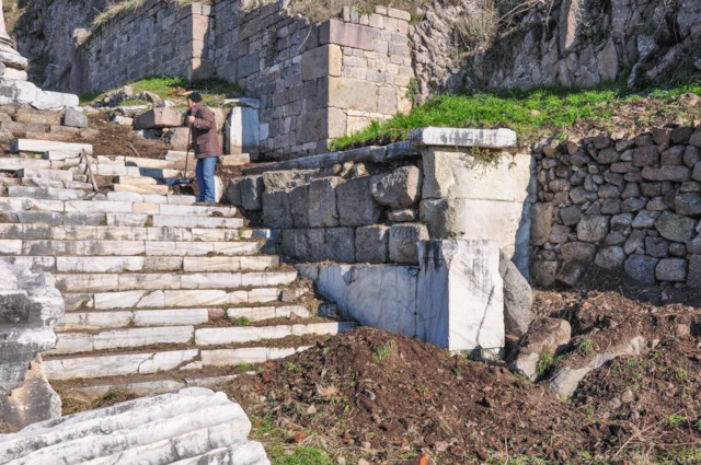 Dionysus Temple Banister