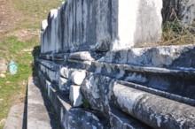 Dionysus Temple Foundation Molding