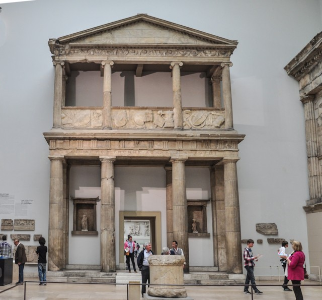 Athena Temple Entrance