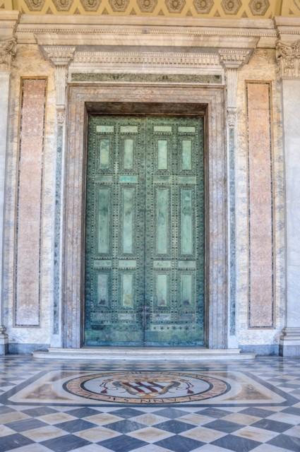 Curia Julia Bronze Doors