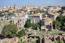 Temples of Antoninus and Faustina and Romulus
