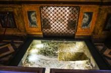 Grotto (Confessio) Detail